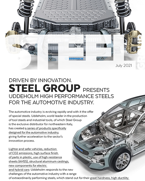 Steel Group | Steel Group presents Uddeholm high performance steels for the automotive industry.