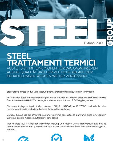 Steelgroup-newsletter-oktober-neuer-ofen